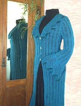 Duster Jacket Knitting Pattern : 13 best images about Lace Sweaters on Pinterest Lorraine, Lace and Crochet ...