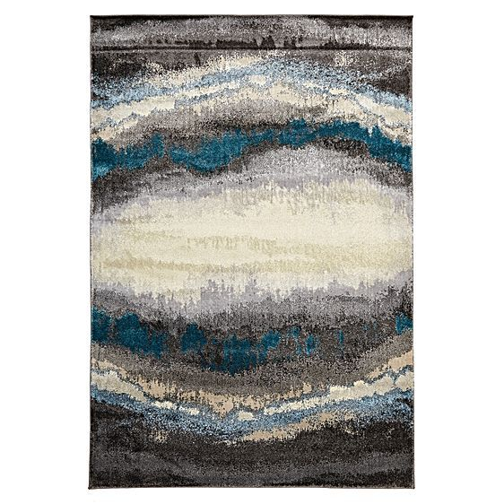 $369-579 Expose your style to the deep shades and abstract nature of the plush Whirlpool Modern Rug from Rug Culture.
