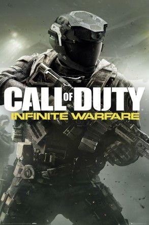 Call Of Duty Infinite Warfare New Key Art Maxi Poster