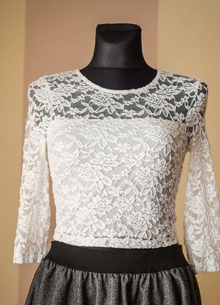 Kup mój przedmiot na #Vinted http://www.vinted.pl/kobiety/bluzki-z-3-slash-4-rekawami/9846089-topshop-romantyczna-koronkowa-bluzka-36