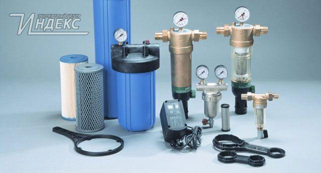 Фильтры механической очистки воды  http://www.indeks.ru/otvety-na-voprosy/filtry-mekhanicheskoy-ochistki-vody.php