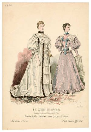1893-1894, Plate 095 :: Costume Institute Fashion Plates