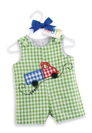 Mud Pie All Boy Truck Shortall