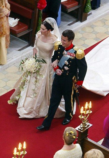 Hochzeit Kronprinz Frederik und Kronprinzessin Mary - Hochzeit Victoria & Daniel