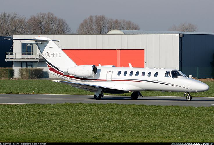 Cessna 525B Citation CJ3, Untitled, OO-FPE, cn 525B-0158. Kortrijk, Belgium, 17.2.2016.
