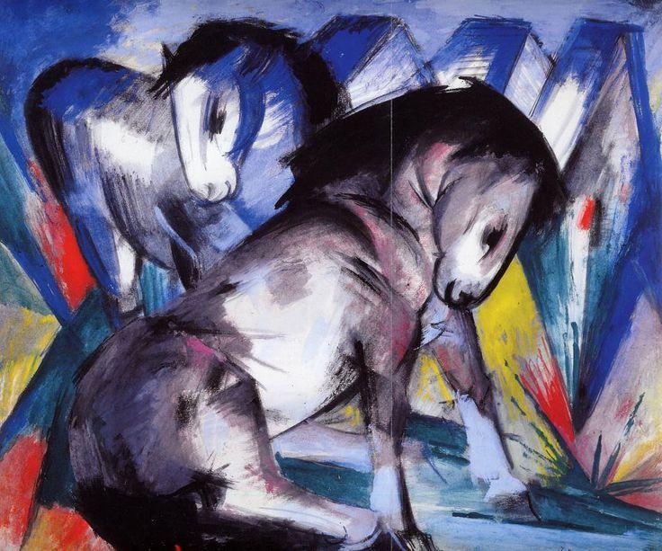 Франц Марк «Две лошади II»