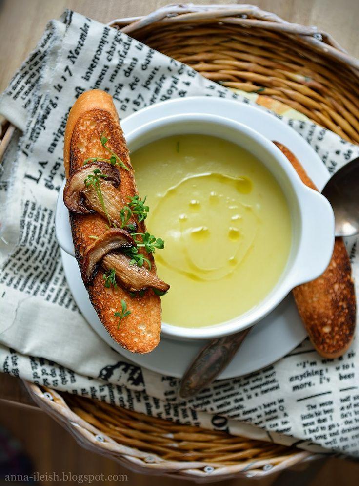 Вкусные домашние обеды: Картофельный суп пюре постный