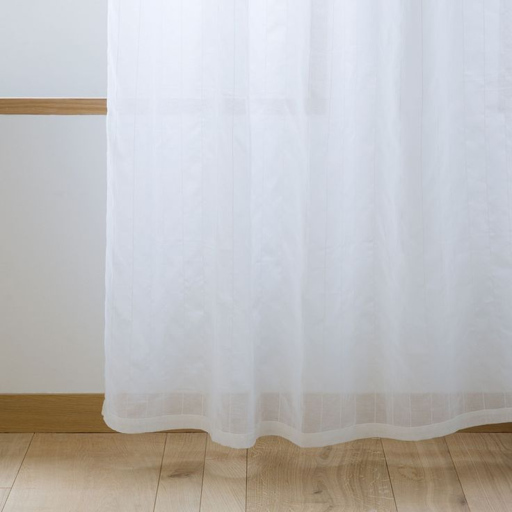 STRIPED LACE CURTAIN - Curtains - Bedroom   Zara Home United Kingdom