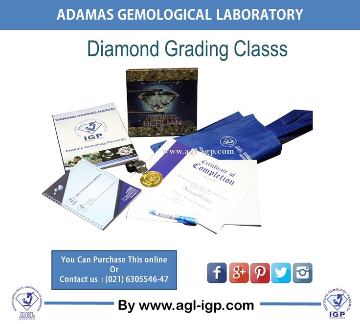 Join our Diamond Grading Class and get this starter pack.