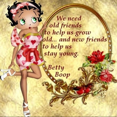 We need old friends