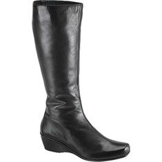 These Vanessa Wedge Boots by Aetrex combines fashion and fun with extraordinary comfort. Finally, a chic boot that gently conforms to your foot, without any pressure or discomfort. Stylish waterproof upper for that comfortable fit. And to complete the package, these boots feature an Aegis anti-micro