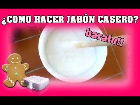▶ Como hacer jabón casero (En 5 minutos) - YouTube