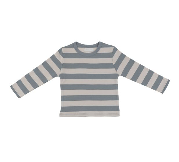 Bob & Blossom Ltd. :: Basics :: Slate & Stone Striped T Shirt