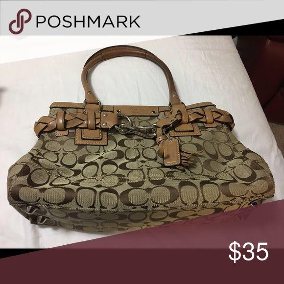 Nice clean Coach purse Coach purse clean, no spots or fraying Coach Bags Mini Bags