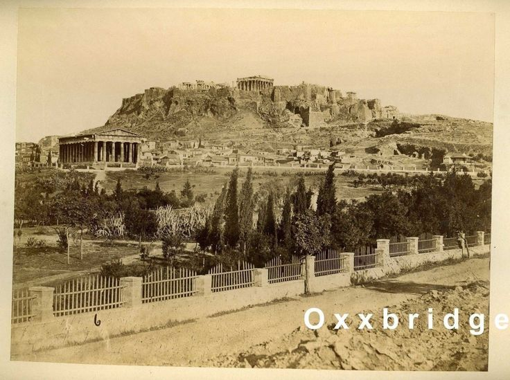 GRECO OLD ATHENS Original 1880 Photo GREECE Acropolis Thesee Temple ROMAN in Collectibles, Photographic Images, Vintage & Antique (Pre-1940), Other Antique Photographs | eBay