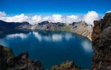 озеро Чхонджи.