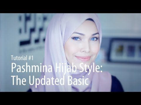 [Adlina Anis] Hijab Tutorial 1 | The Updated Basic - YouTube