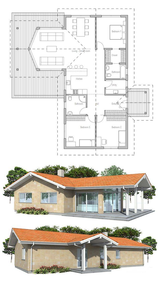 Small House Plan from ConceptHome.com