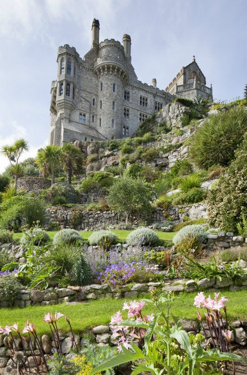 St Michael's Mount Gardens - Cornwall UK -http://www.stmichaelsmount.co.uk/news/gardens-open-monday-14-april/