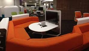 desk monitor laptop pods - Google Search