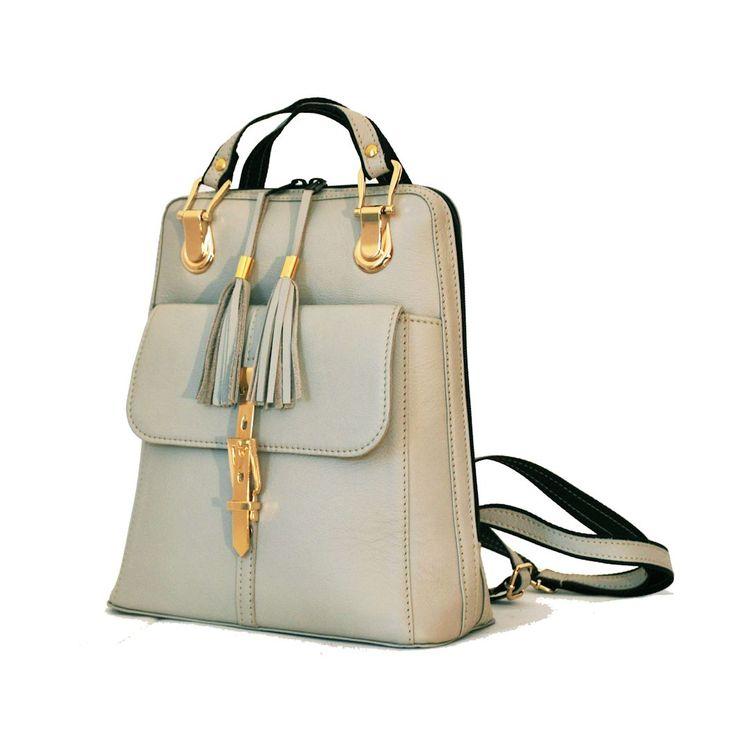 Moderný dámsky kožený ruksak z prírodnej kože. S nádherným koženým ruksakom (batohom) budú vaše každodenné rutiny praktické a štýlové zároveň. https://www.vegalm.sk