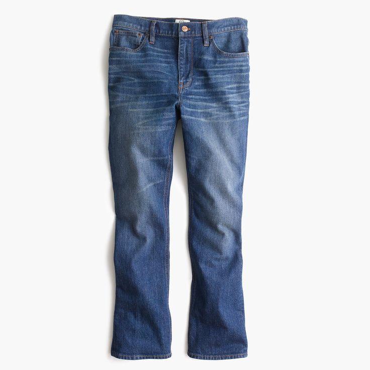 J.Crew - Billie demi-boot crop jean in Parkgate wash