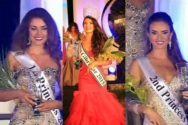 Hannah Bado crowned Miss World Gibraltar 2015