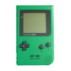 My green Gameboy pocket :)