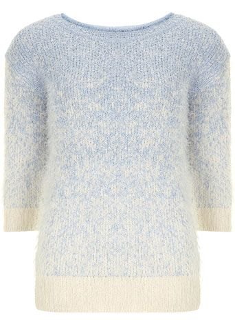 Tall blue ombre jumper