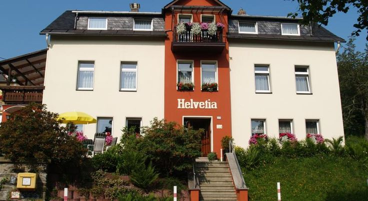 Pension Helvetia Bad Elster This hotel is peacefully located in the spa town of Bad Elster, in the scenic Upper Vogtland region. Spa facilities, a large garden and free WiFi are offered here.