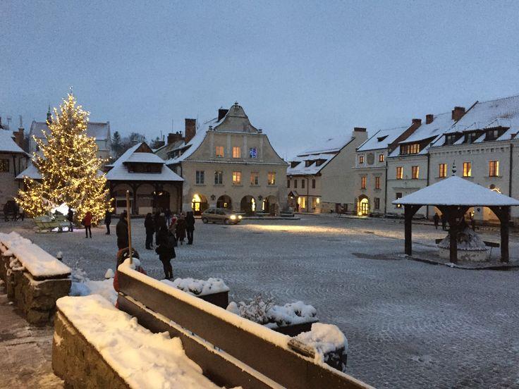 ~Kazimierz Dolny, Poland~ pierwszy śnieg