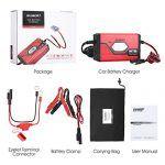 nice Suaoki Autobatterie-Ladegerät Batterieladegerät 4A Ladestrom, Ladespannung 6/ 12V für Auto Motorrad LKW