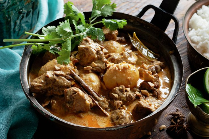 Recreate hot nights in Thailand with this classic massaman curry with a divine rich coconut sauce and beef that falls apart at a mere touch.