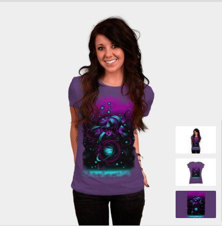 Fantacy Unknown Universe #DesignByHumans #DBH #tshirt #shirt #Fantacy #Unknown #Universe http://www.designbyhumans.com/shop/t-shirt/women/fantacy-unknown-universe/61926/