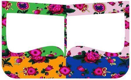 نتيجة بحث الصور عن برقع Floral Logo Eid Cards Floral Logo Design