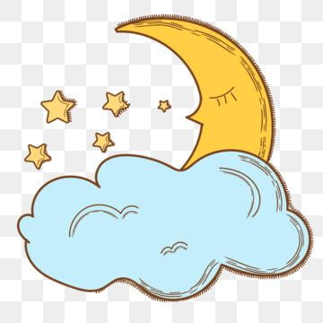 20+ Moon and stars clipart free ideas