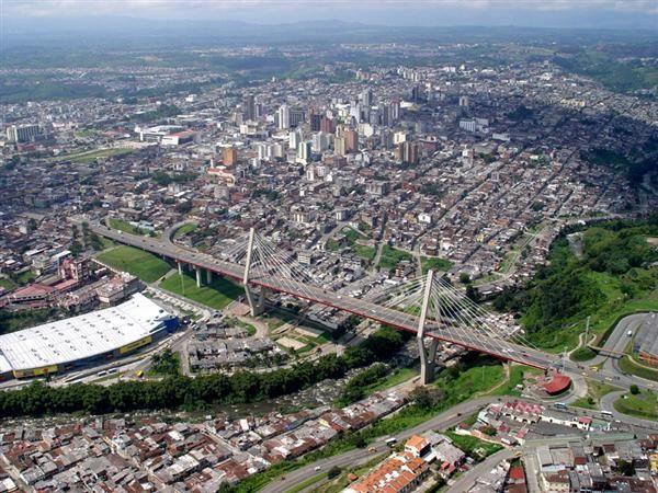 Colombia - Viaducto de Pereira Risaralda.
