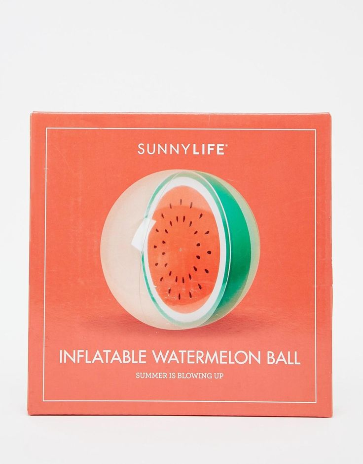 Sunnylife+Inflatable+Watermelon+Ball