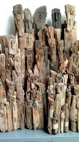 Marc BOURLIER - driftwood art