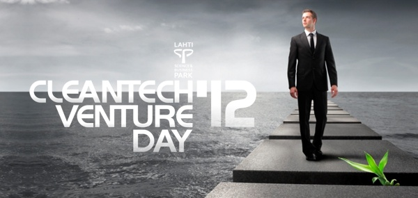 Attending the Cleantech Venture Day in Lahti, April 25-26!