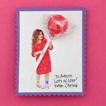 Valentine - Valentine's Personalized CArd - #valentine DIY Valentine's Day Craft Ideas