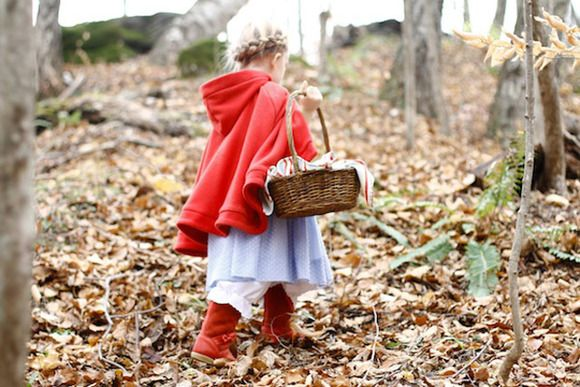 Disfraz de caperucita roja #disfracesparaniñas #disfracescaseros #disfrazcaperucita