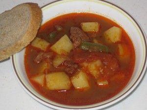 Goulash Soup (Gulášová polievka)