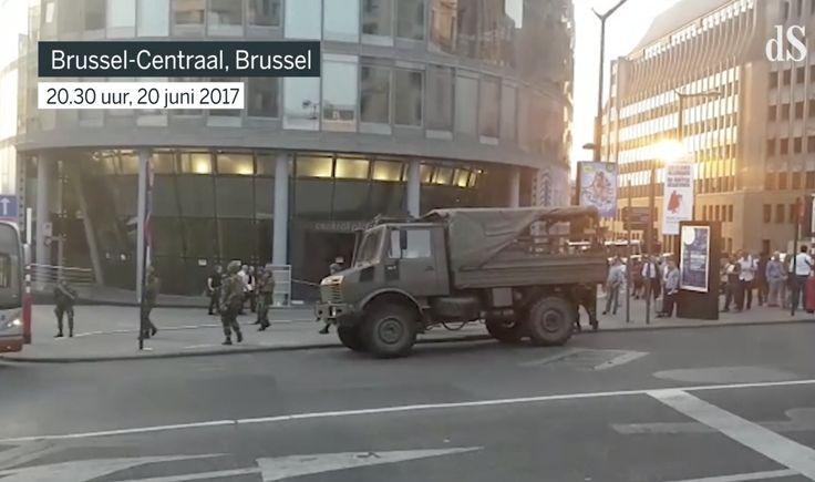 Goddank: oplettende militairen schieten terrorist dood in Brussel
