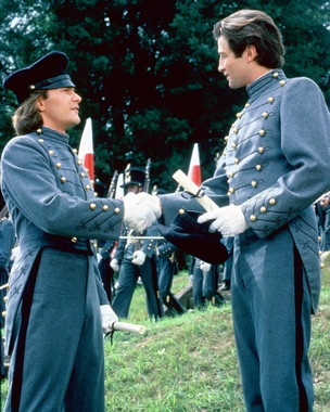 Orry and George's graduation ceremony from the Military Academy at West Point, 1846.:
