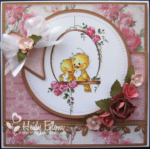 Bird Swing [SZWS115] - $7.00 : Whimsy Stamps