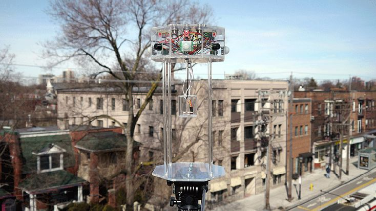 the chime: a digital wind chime by marc de pape scores the city - designboom