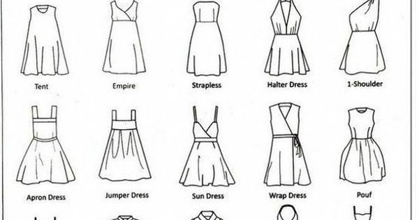 Image Result For Dress Styles Names Dress Style Names Style Fashion Dresses