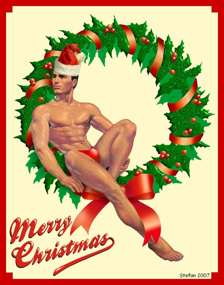 Erotic christmas greetings-1954