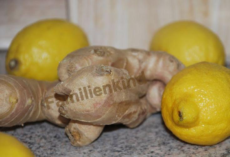 Ingwer Zitrone